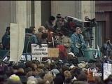 1990-11-07 Альтернативная демонстрация и митинг на площади перед гостиницей Москва