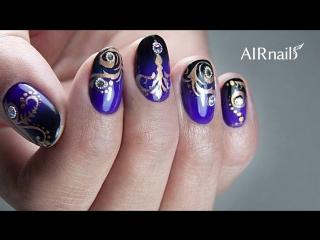 AirNails  Обучение аэрографии на ногтях