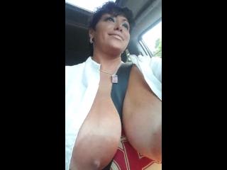 Шикарные большие дыньки , titis , milf hot