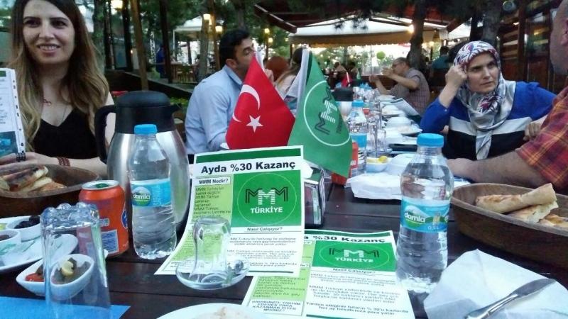 MMM Türkiye Ankara'da iftar düzenledi
