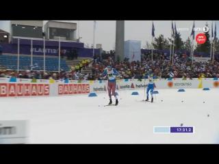 Драматичный финиш Сергея Устюгова в командном спринте
