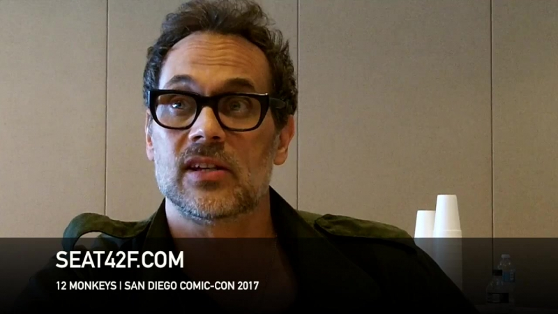 Todd Stashwick интервью | 12 Обезьян | 12 Monkeys | Interview | Comic Con