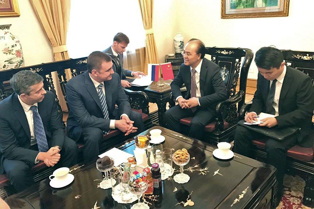 Алексей Дюмин в Китае презентовал инвестиционный потенциал Тульской области