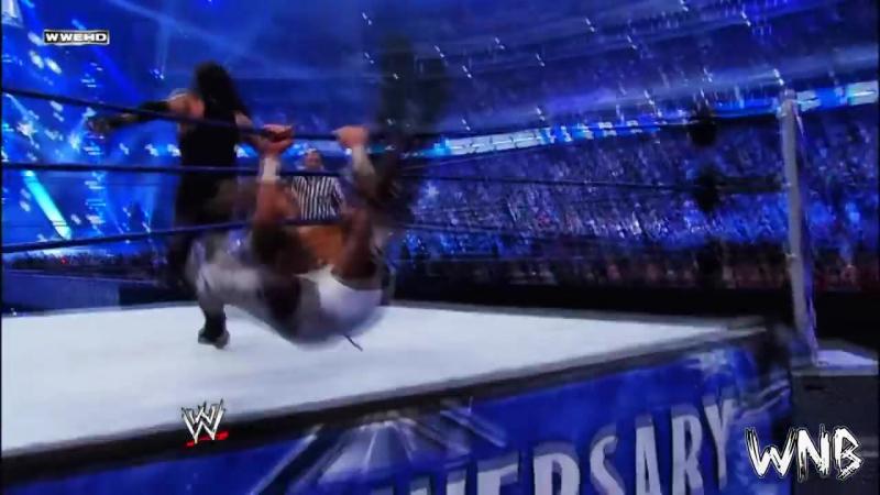 Wrestlemania 25 Shawn Michaels vs The Undertaker