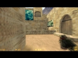 cs 1.6 de_dust2_2x2 прострелы wallbangs #2 [107]