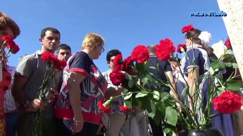 Открытие памятника Герою России Алексею Палатиди, ст, Натухаевская, 10 сентября 2016 г.