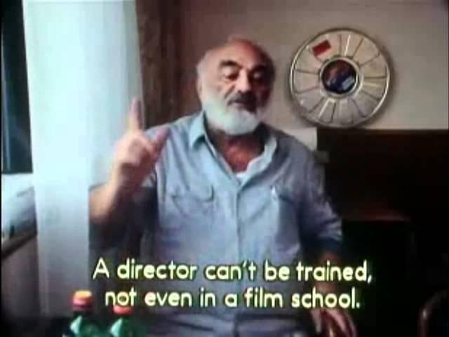 Փարաջանովը ռեժիսուրայի մասին - Paradjanov about directing
