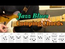 Jazz Blues Comping Chords With Chord Boxes Guitar Lesson Camilo James
