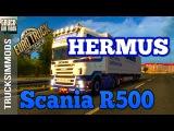 [ETS2 v1.24] Scania R500 HERMUS + Cabin DLC SISLs Mega Pack
