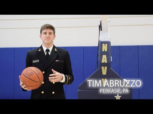 Navy MBB - Tim Abruzzo Senior Spotlight