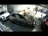 Has visto este Fiat Abarth en Camouflage Mate? Cliente Difisa Racing - Car Wrapping by Pronto Rotulo