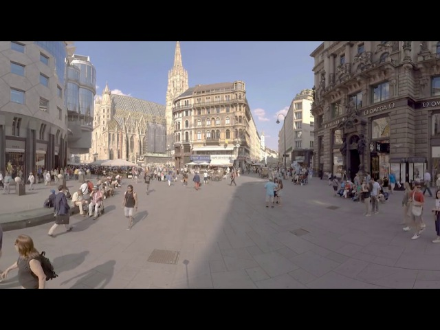 VR Travel 360 Video - St. Stephen's Cathedral - ID 688 - Royalty Free Stock Licensing