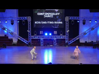 Winner Contemporary Kids Duo Trio Rising | Горичок София & Сеник Максим | The Challenge