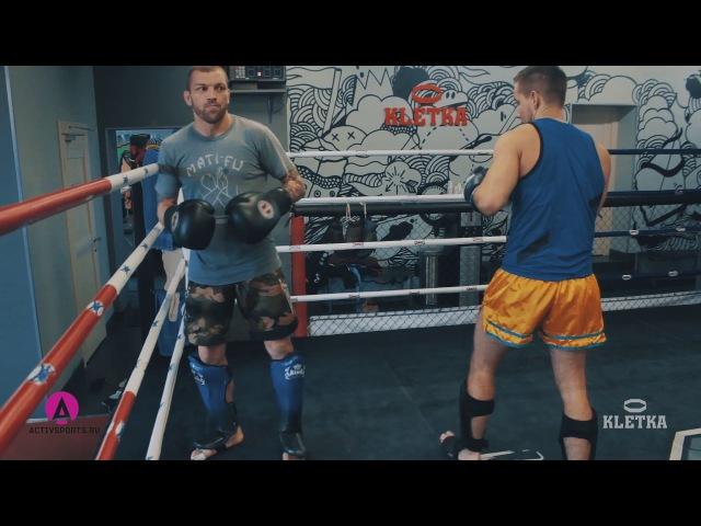Коварный удар джеб. Защита от прямого удара рукой в Тайском Боксе от Андрея Басынина