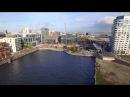 Hamburg Elbphilharmonie and Hafencity Aerial View 4k