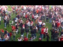 FC Köln fans celebrate making it to the Europa League