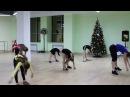 Танцы в «Магис Дети» разминка возраст 7-12 лет