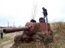 БРОШЕННЫЕ ТАНКИ!Abandoned tanks!В поисках Золота и Старины!