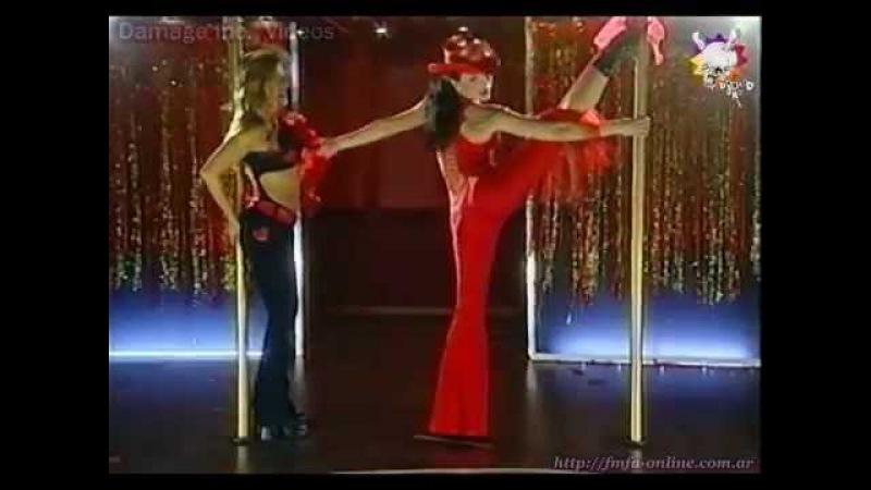 Natalia Oreiro y Monica Ayos Baile del Caño Sos Mi Vida