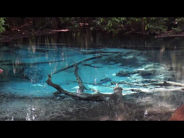Голубое озеро Blue Lake в Краби Таиланд