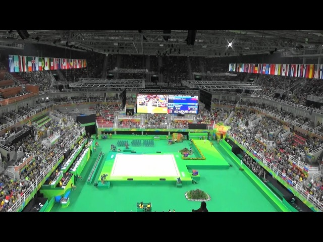 2016 Rio Olympic ガンナ・リザディノワ Ganna Rizatdinova UKR CLUBS Rhythmic gymnastics Individual All-Around