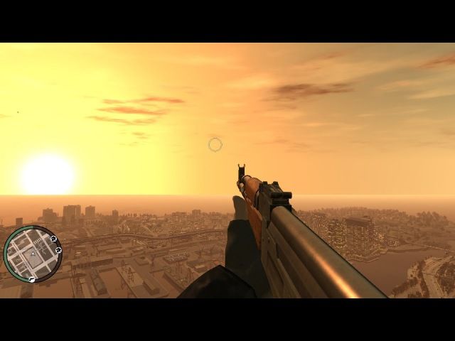Grand Theft Auto IV (GTA 4) - All Weapons In First Person