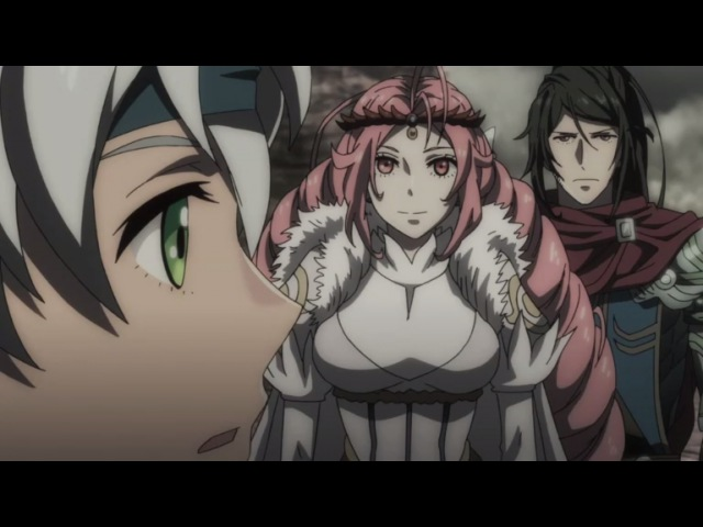 Chain Chronicle: Hekuseitasu no Hikari 9 серия русская озвучка OVERLORDS / Хроники событий 09