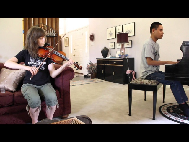 BRING HIM HOME (LES MISERABLES) - LINDSEY STIRLING AND BLIND PIANO PRODIGY KUHA'O IMPROV DUET