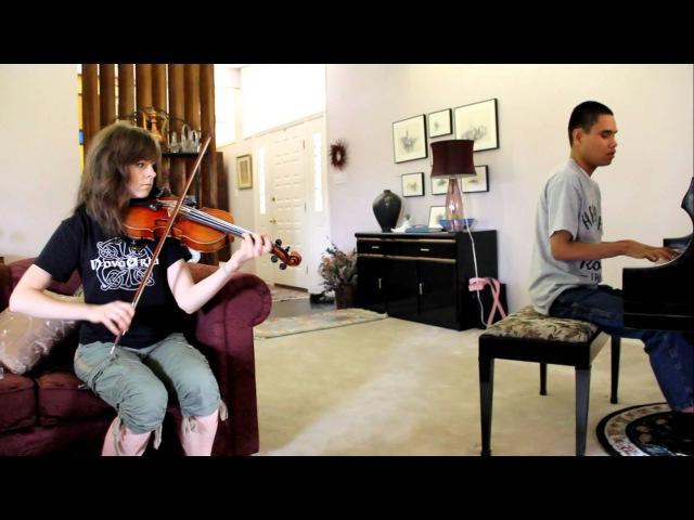 Phantom of the Opera - Lindsey Stirling and Blind Piano Prodigy Kuha'o Case Freestyle Together