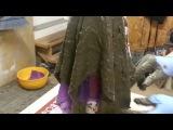 Как сделать кашпо из ткани или тряпок и цемента. Часть 1