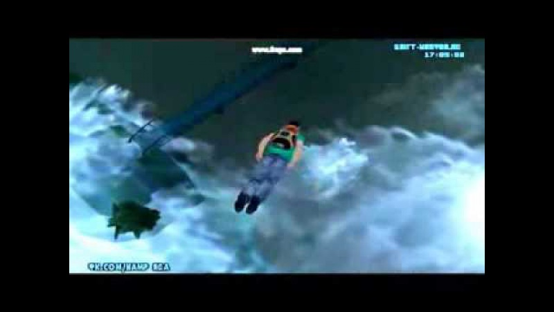 Как я прыгал с парашютом в Samp (0.3x)