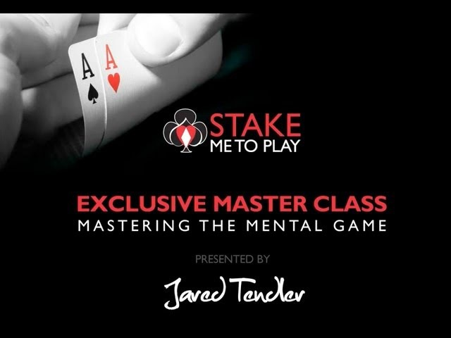 Stake Me To Play - Mastering the Mental Game of Poker - Jared Tendler
