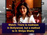 Watch There is madness in Bollywood, but a method to it Shilpa Shetty - Bollywood News