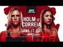 Holm vs Correia Promo