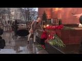 Акция памяти погибшим в теракте в Петербурге. Москва, 3.04.17