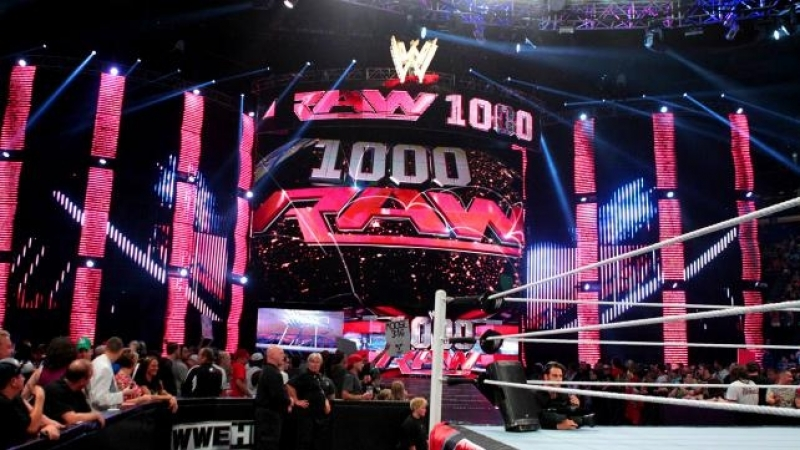 RAW 23.07.12 - 1000th Episode (545TV)