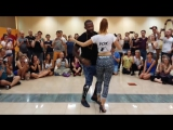 Tony Pirata and Sophie Fox. Kizomba Show Demo at Bachaturo | Kizomba Perfomance