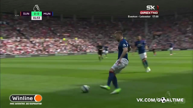 ГолТВ рф Сандерленд Манчестер Юнайтед 0 3 Обзор матча