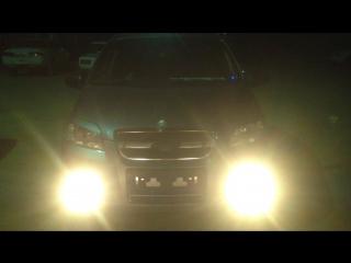 Правильное автоматическое включение ПТФ Chevrolet Aveo