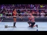 Реслинг WWE 2017. Рестлер сделал предложение своей девушке на ринге перед 65 тысячами фанатов