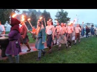 Факельное шествие. БТМ-2017