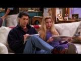 Росс и Фиби разгадывают кроссворд. Отрывок из