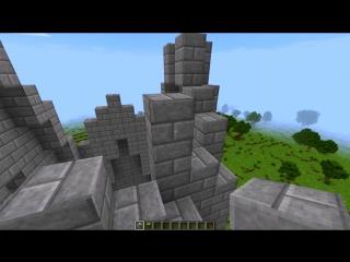 Как построить статую в Minecraft (Ангела карта часть I)