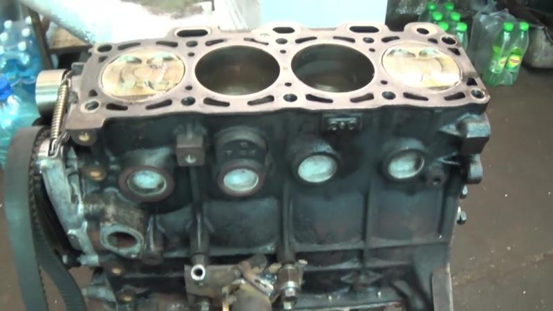 Теория ДВС- Двигатель FE3N Mazda-KIA обзор-дефектовка