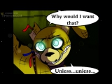 ФИОЛЕТОВЫЙ ПСИХ - Five Nights At Freddys 3 КОМИКС #10