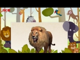 Животные Африки. Стихи для детей. Лев, зебра, леопард, орёл, тигр. Наше всё!