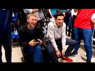 Football party в магазине adidas