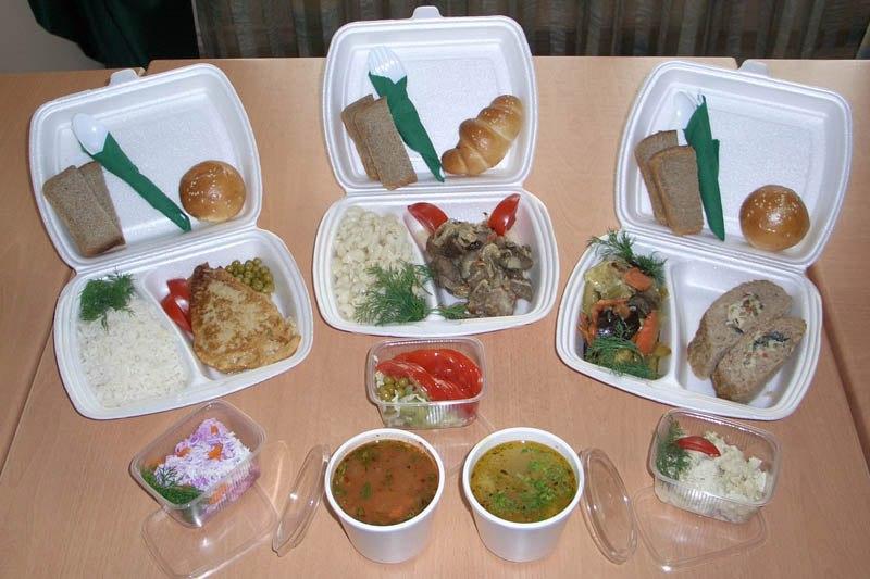 Заказ обедов в Офис в Москве