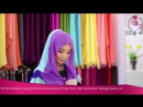 Neng Geulis Hijab Tutorial 7 Azraa Three Tone