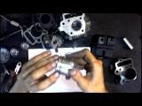 Как правильно поставить кольца на поршень мопед Дельта Альфа